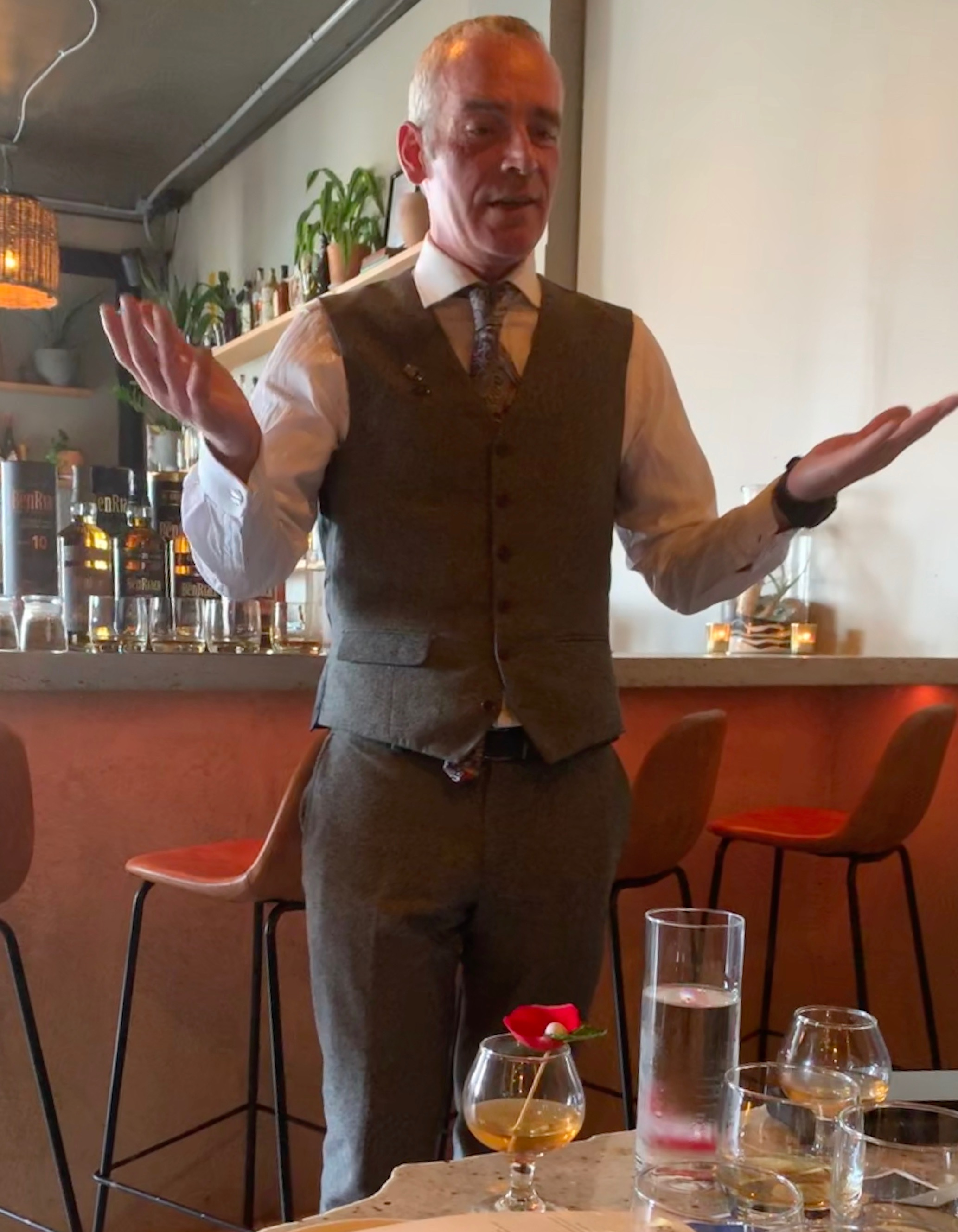 Stewart Buchanan, Global Brand Ambassador for BenRiach.