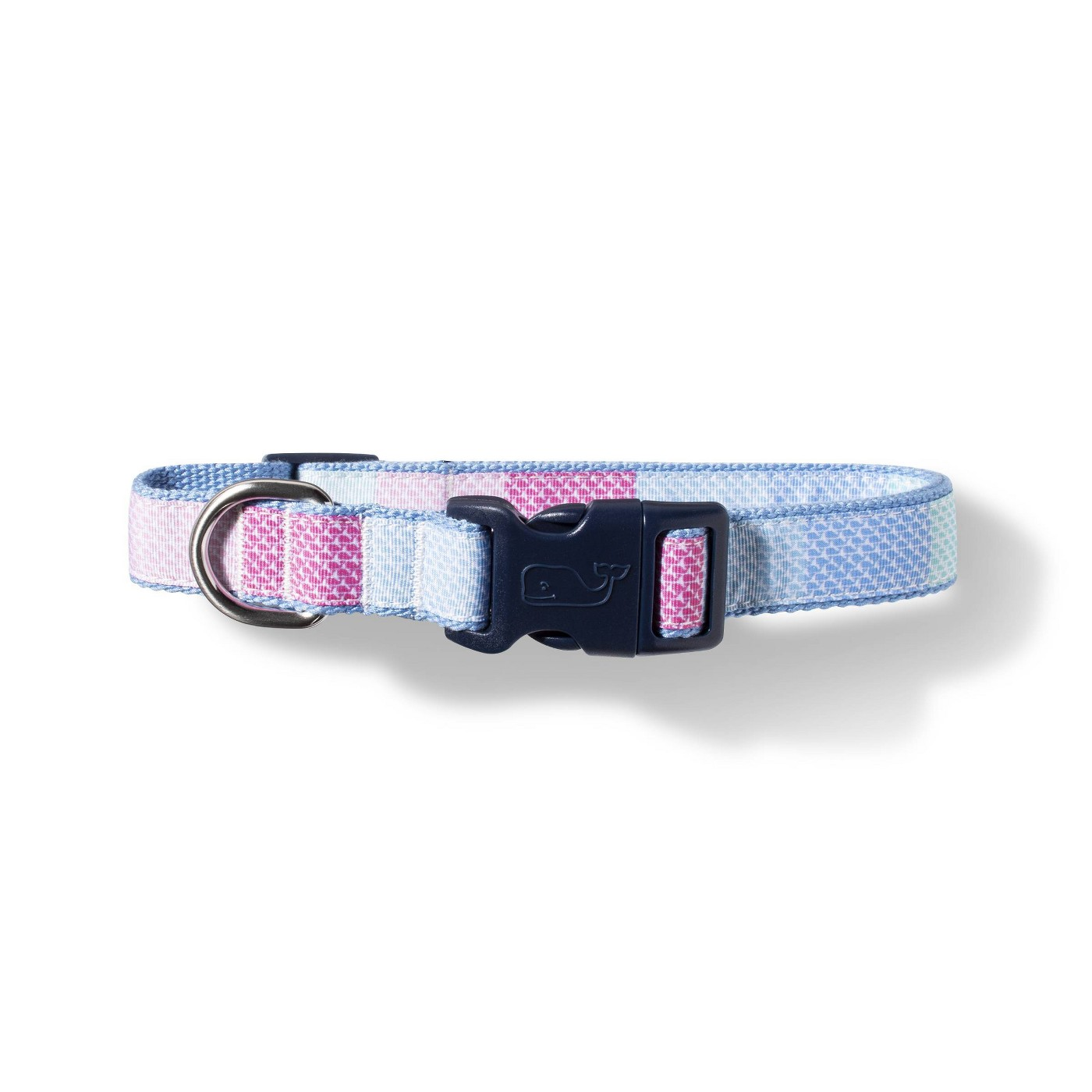 Vineyard Vines Target Patchwork Dog Collar