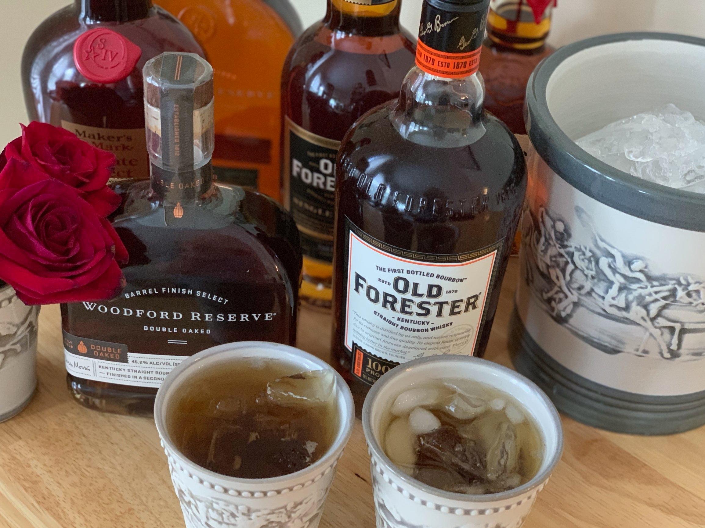 Kentucky bourbon bar