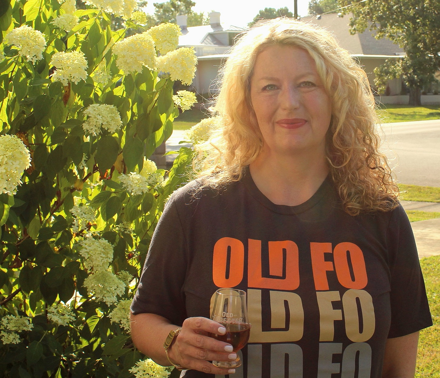 Old Forester graphic tee | Kentucky lifestyle blogger