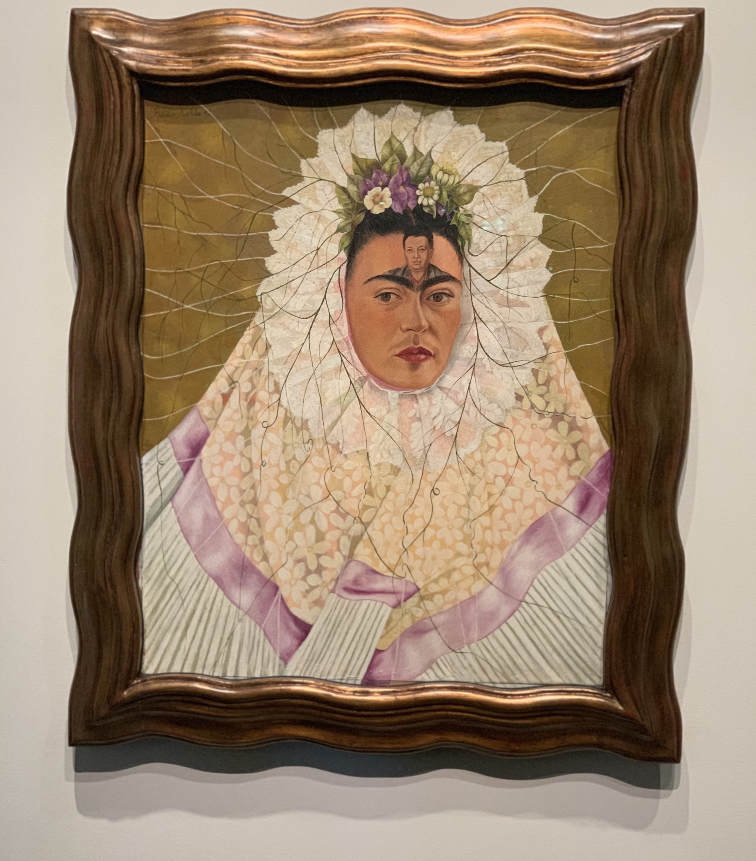 Self-Portrait as a Tehuana (Diego on my Mind) by Frida Kahlo