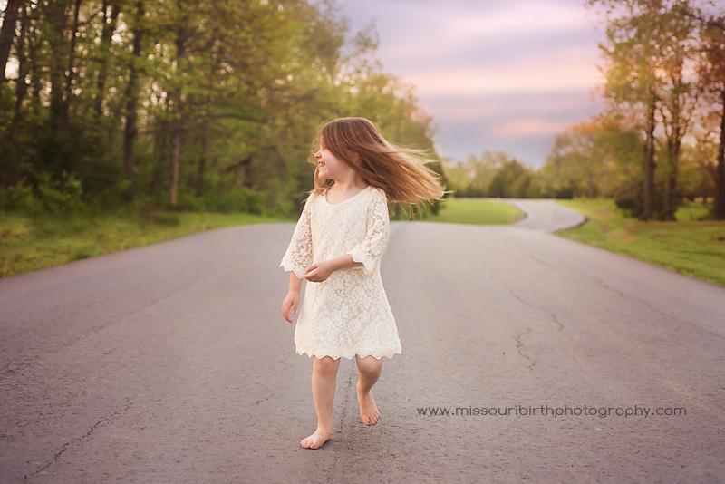 Warrensburg child photography
