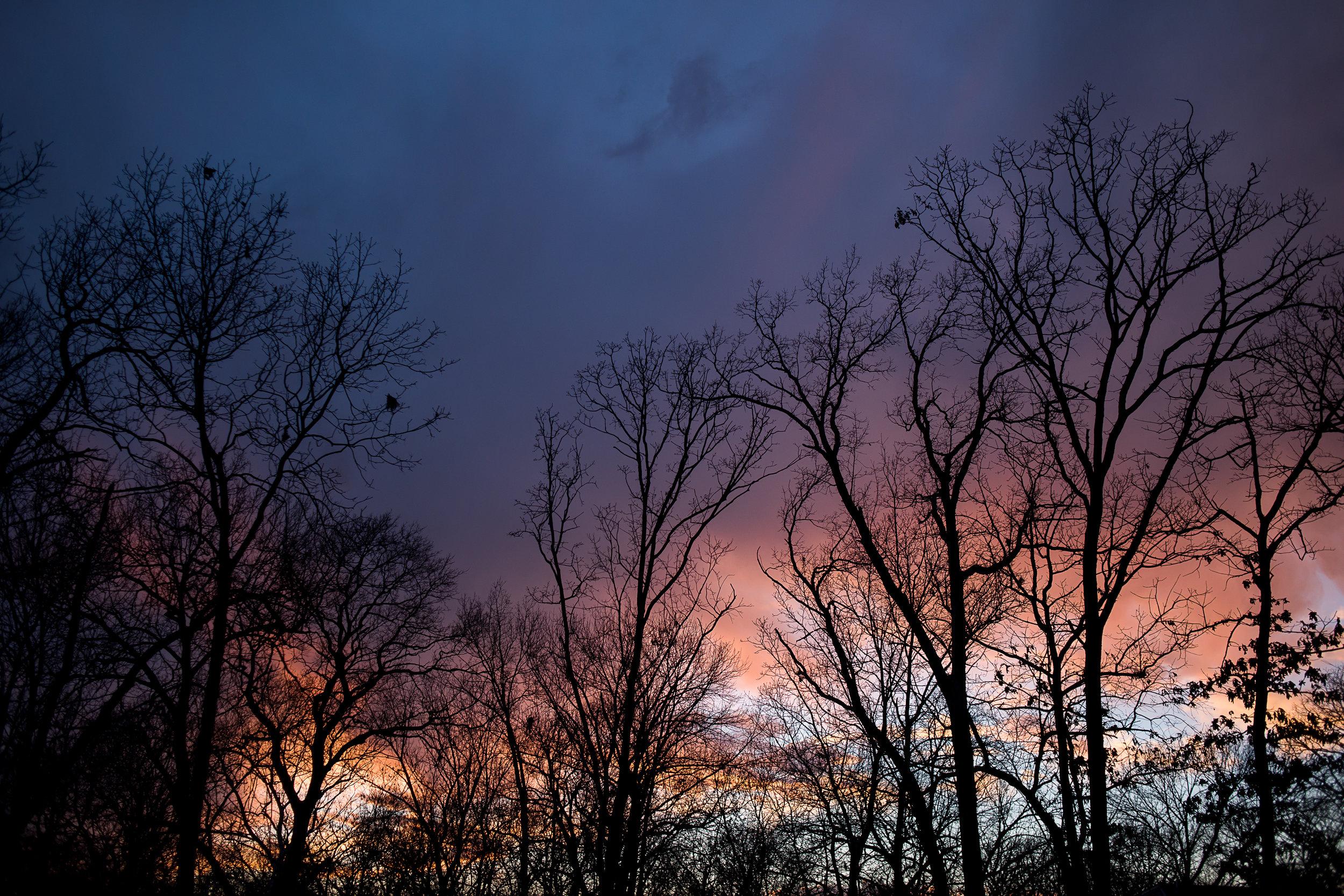White balance sunset comparison