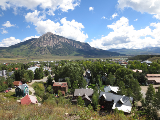 By the next day, Crested Butte was looking pretty sweet. We walked around town for a while, and hit the road - to Kebler Pass!