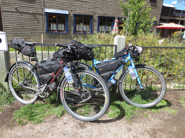 The bikes even looked happy to be drier.