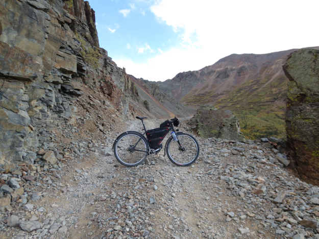 Bike vs. Mountain. Bike won... this time.