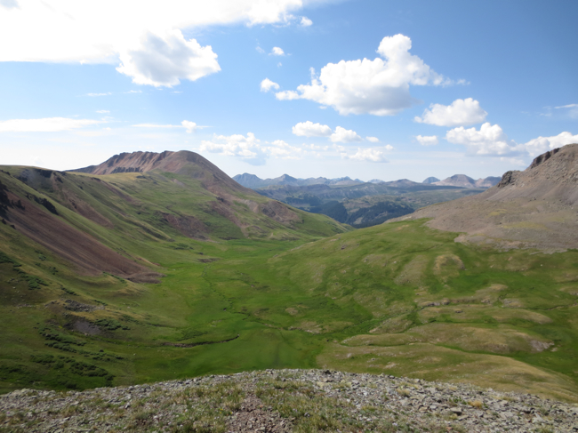 The Rio Grande headwaters, above Stony Pass. It's hard to convey how big this landscape is without just being there - photos and words don't do it justice.