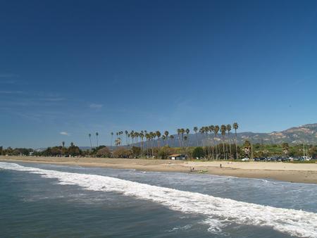 Goleta Beach from the pier