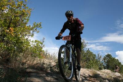 Joey on Raiders Ridge during SSWC09 in Durango