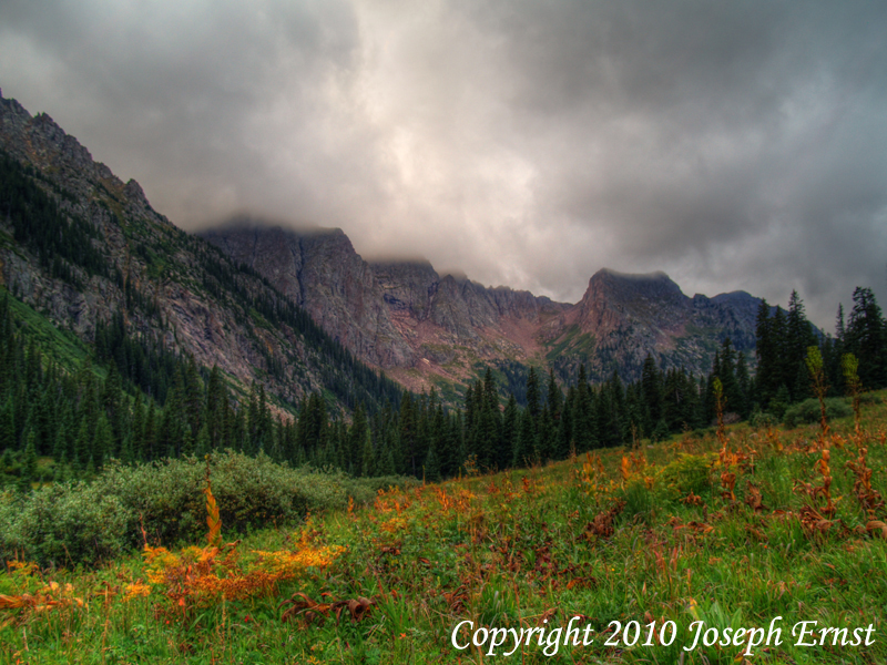 Chicago Basin in late summer.