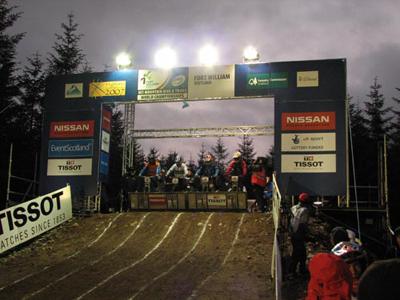Men's fourcross gate - 2007 World Championships, Scotland