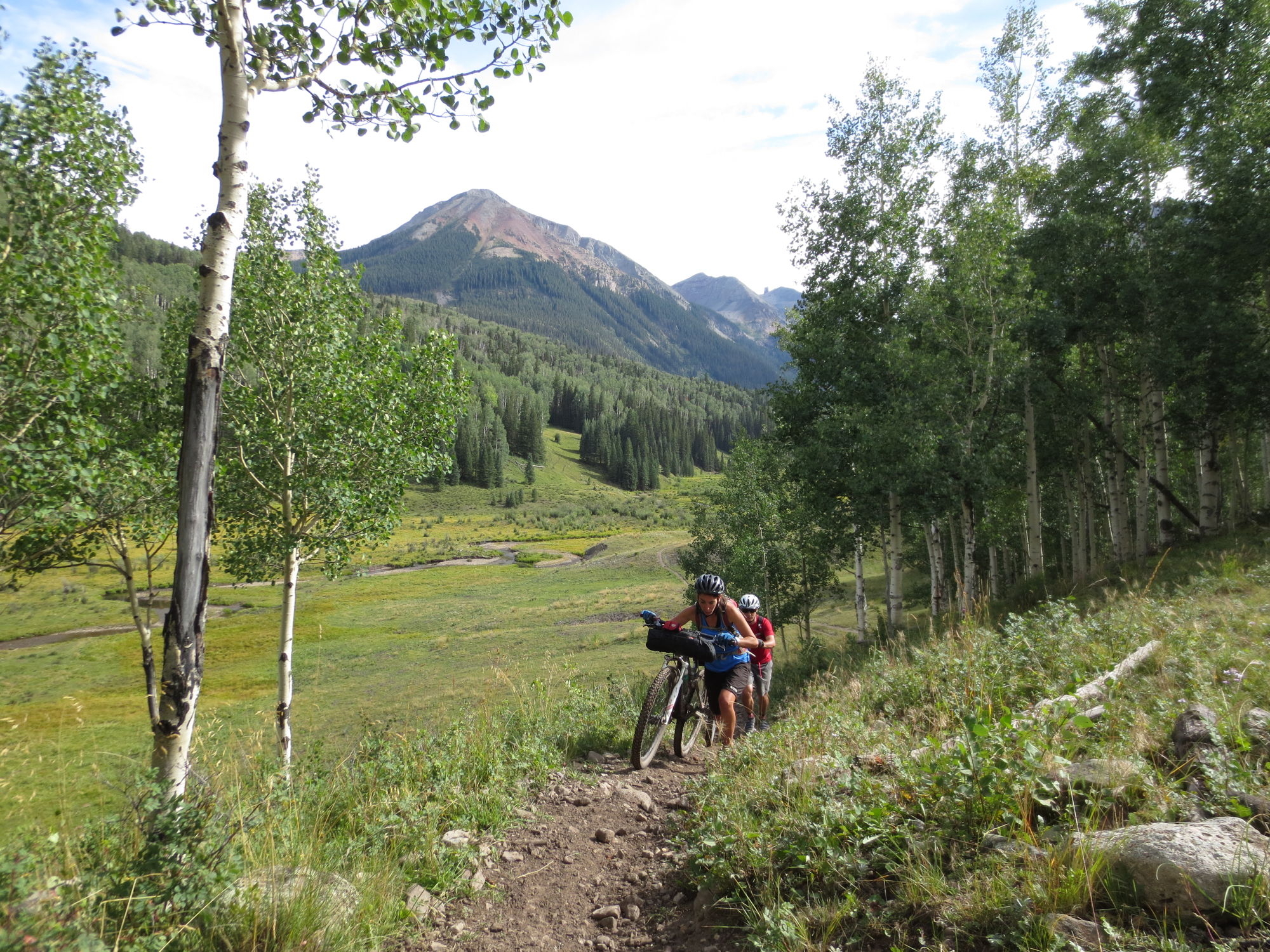 Alas, even heaven has its tribulations - namely, cow-destroyed singletrack. And land-use managers are worried about mountain bikes... what a joke.