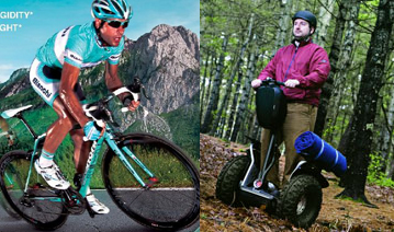 April Fool's 2013 - we now only sell carbon road bikes and Segway-packing gear.  No, really!