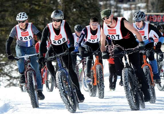 Racing on wide, groomed trails is fast and fun!