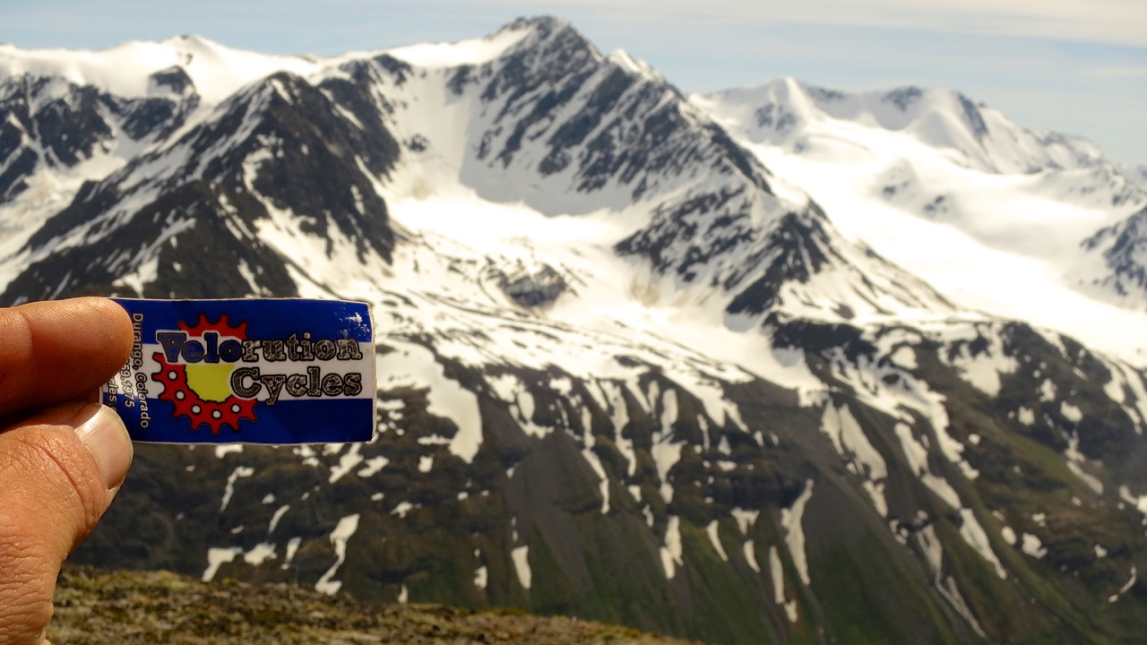 Eric Parsons, owner of Revelate Designs, sent us this photo from the Chugash, in Alaska.