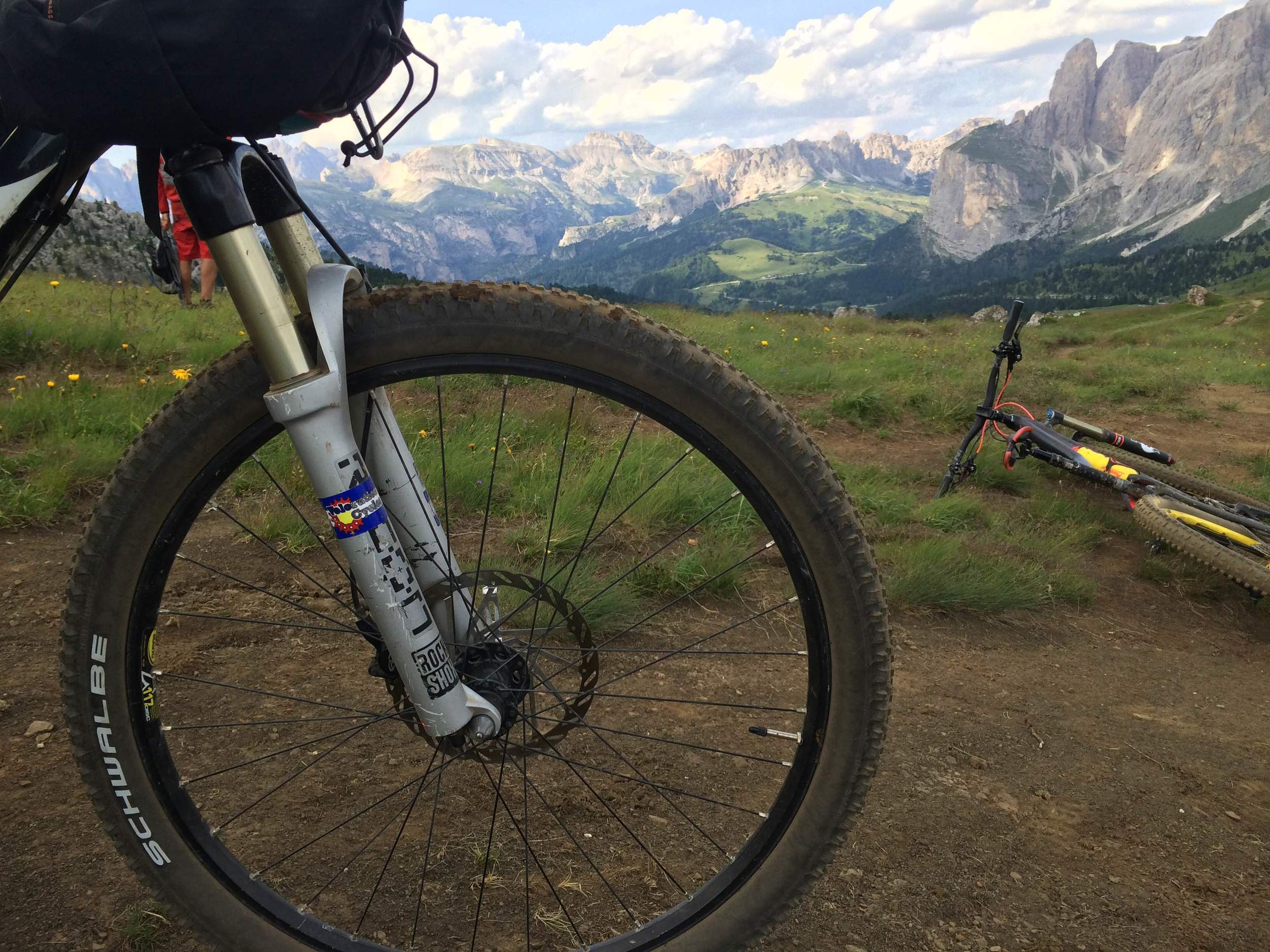 Hallie and Rob are on a long trip through the Dolomites and Alps. Amazing!