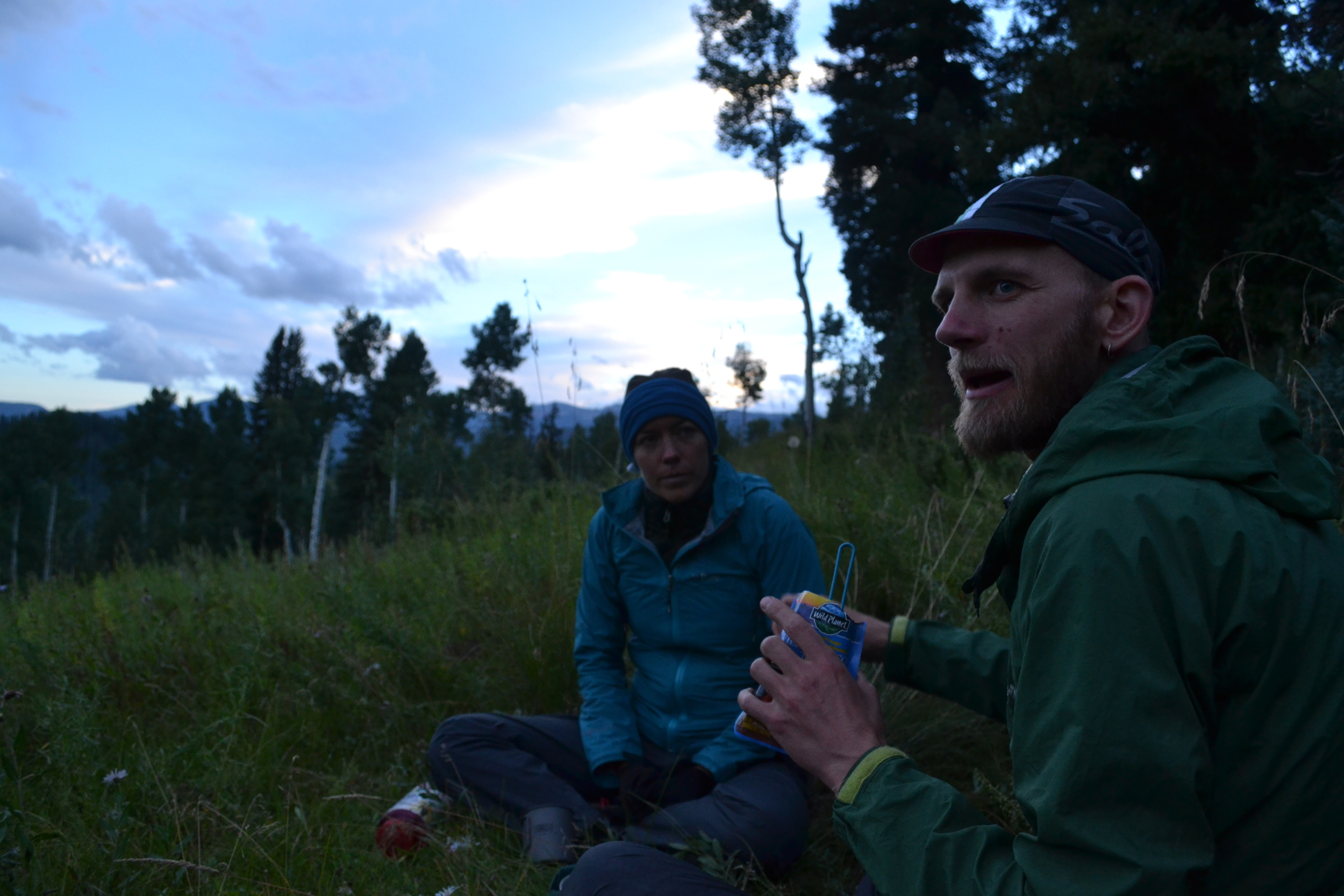 We pitched camp in a beautiful meadow, ate dinner, told stories, and admired the best Milky Way showing I've seen in literally years and years. (Photo by Brian Hanson)
