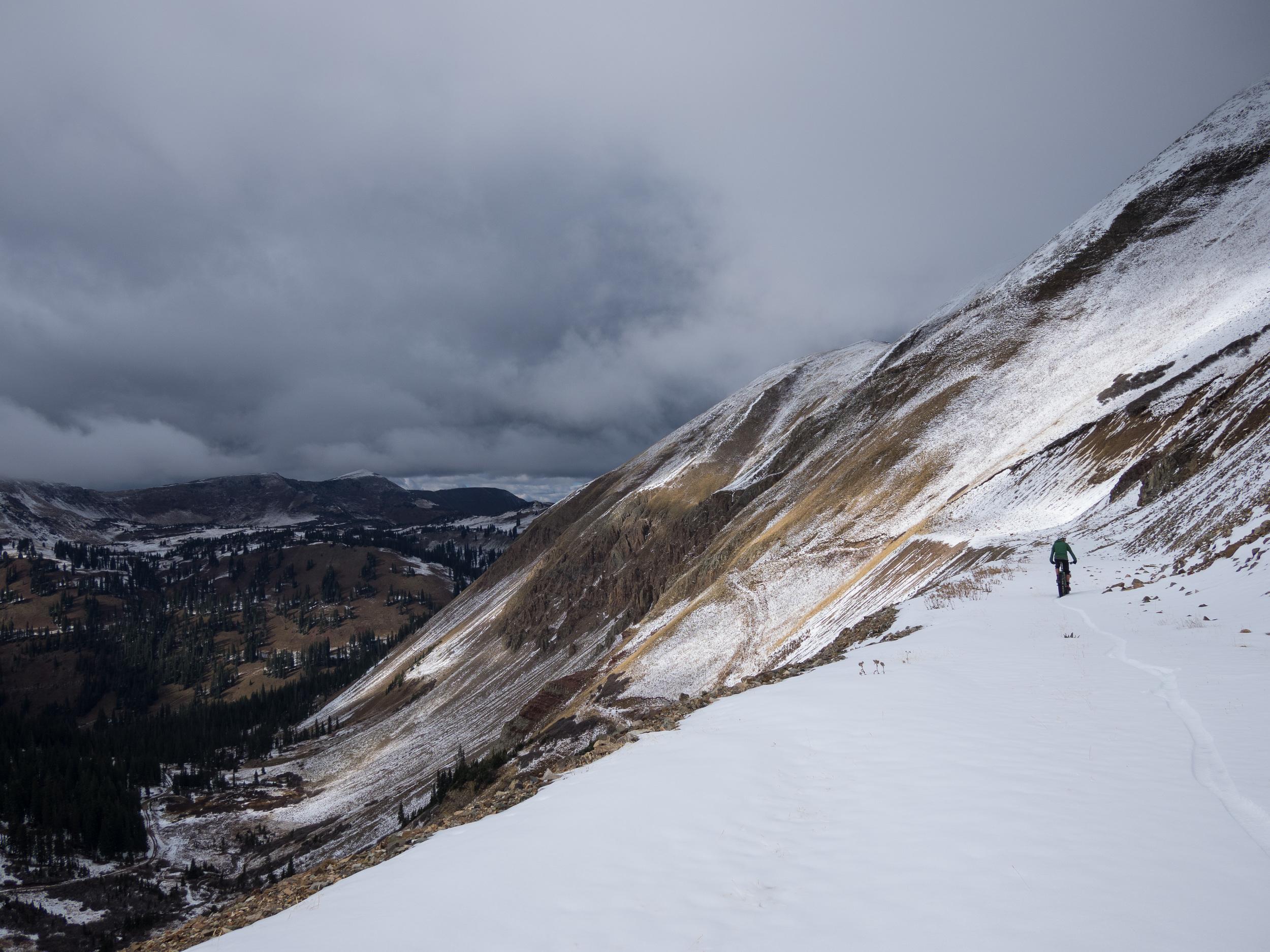 Big views, fresh tracks. ( Brett Davis photo )