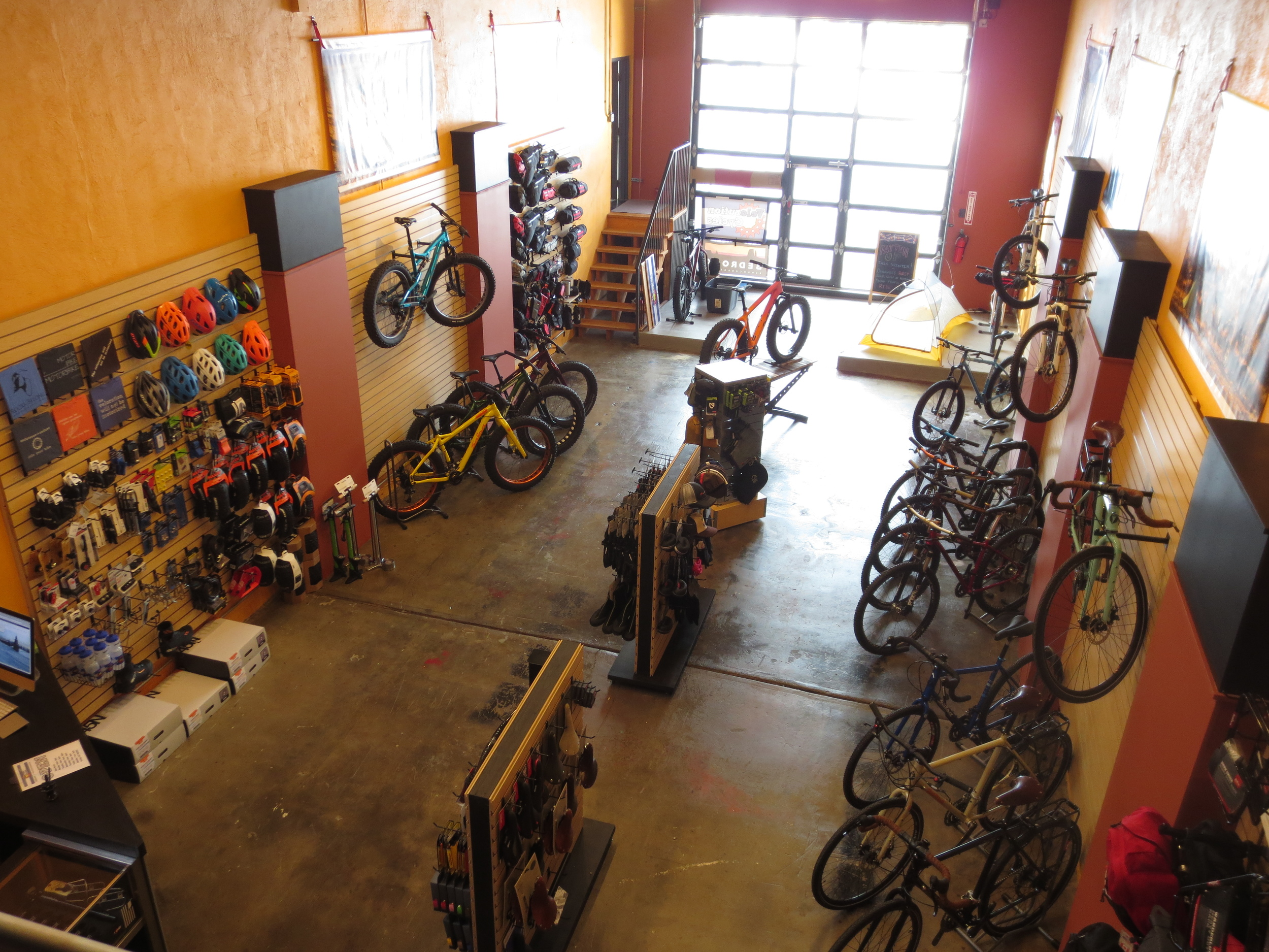 Parts, accessories, and gear for bicycle adventures large and small