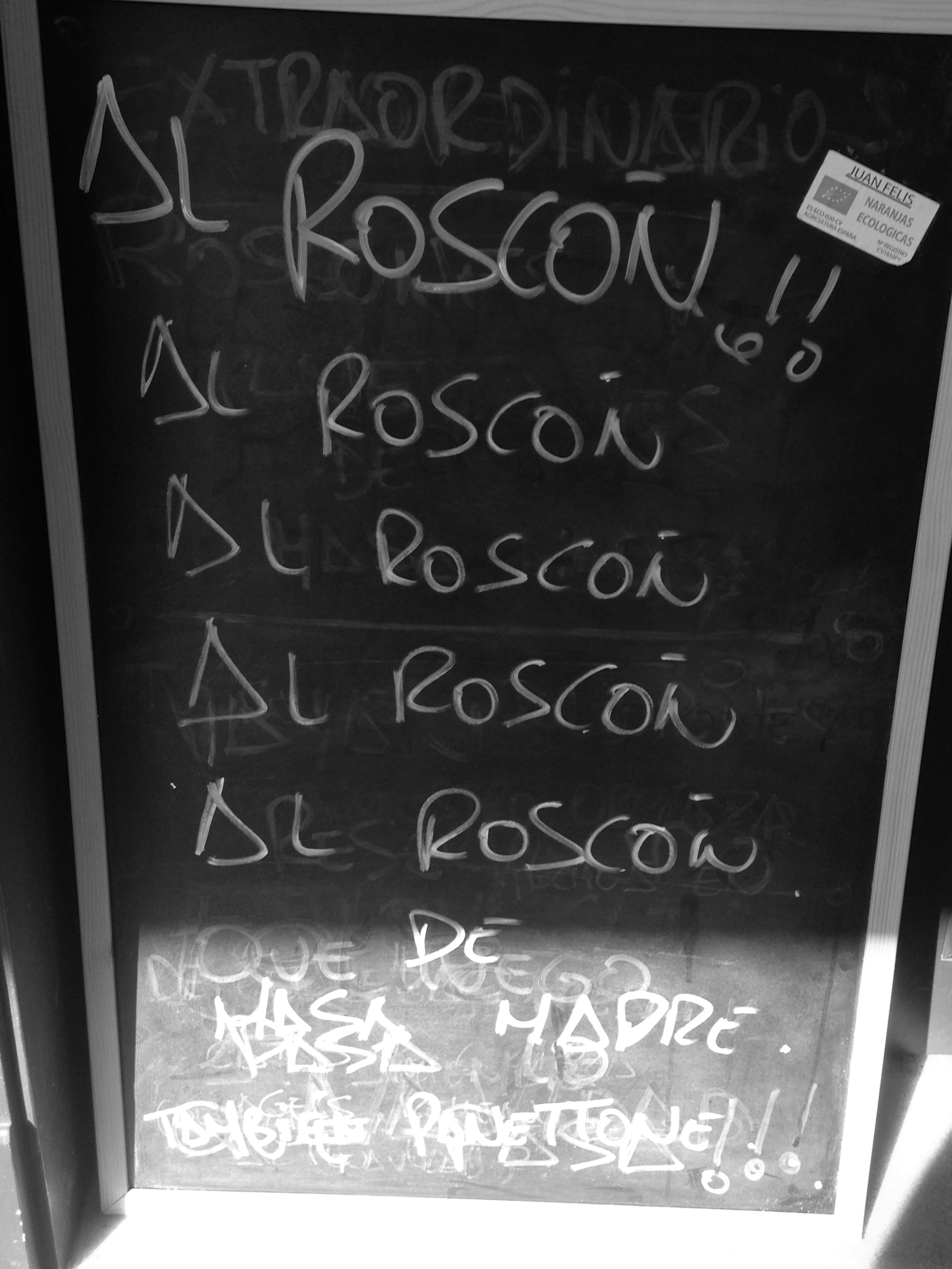 People are really, really into their  roscón  here. Can you tell?
