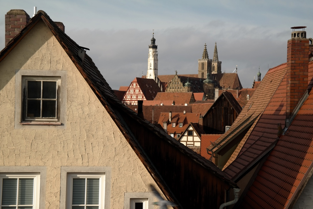 A view of the city taken from the city walls.