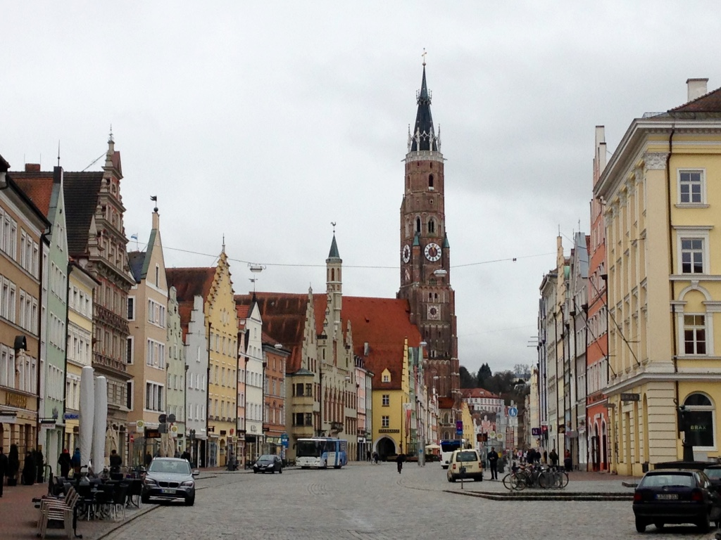 Landshut, a quick drive from Munich.