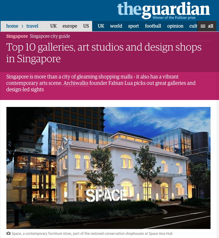 Feature on The Guardian (UK). Click to read.