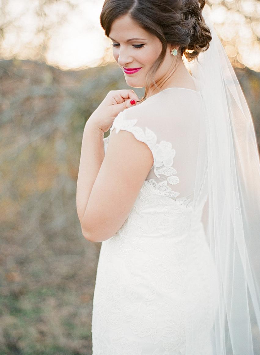 Arbor Hills Nature Preserve Bridal Session