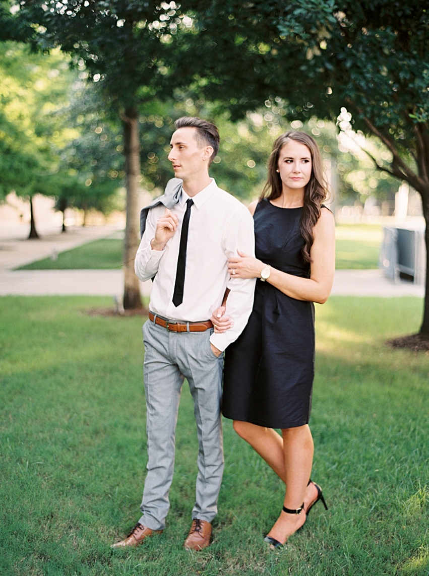 Downtown Dallas Engagement Session
