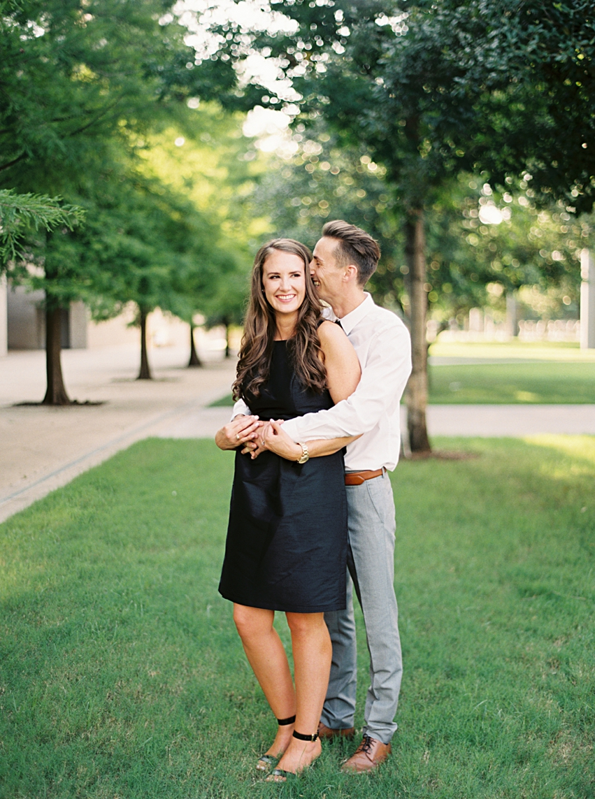 Winspear Downtown Dallas Engagement Session