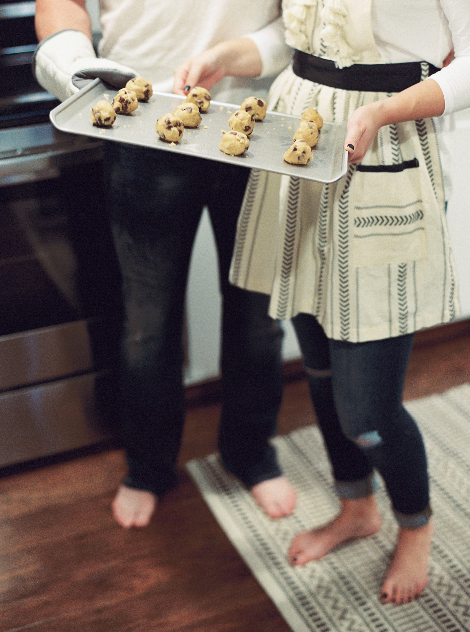 Melanie & Wes - Kitchen Lifestyle Session