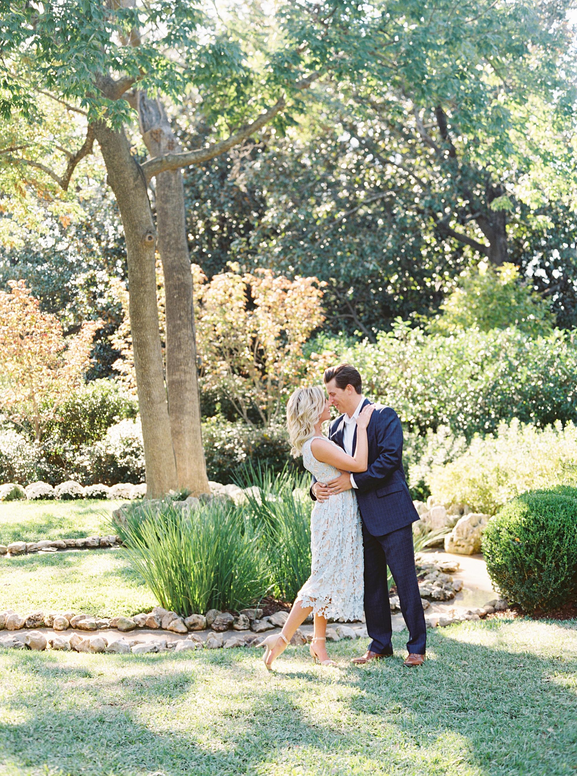 Dallas Arboretum Engagement Session