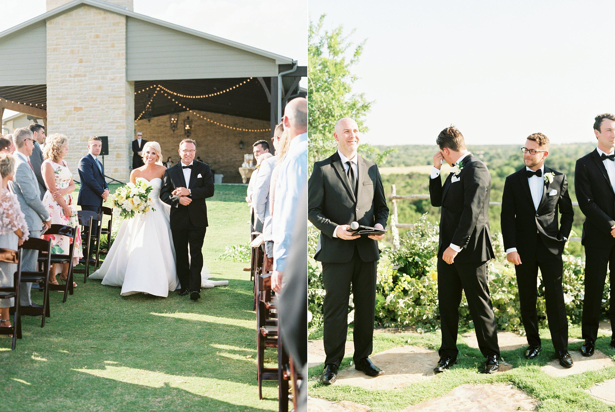 Dove Ridge Vineyard Wedding