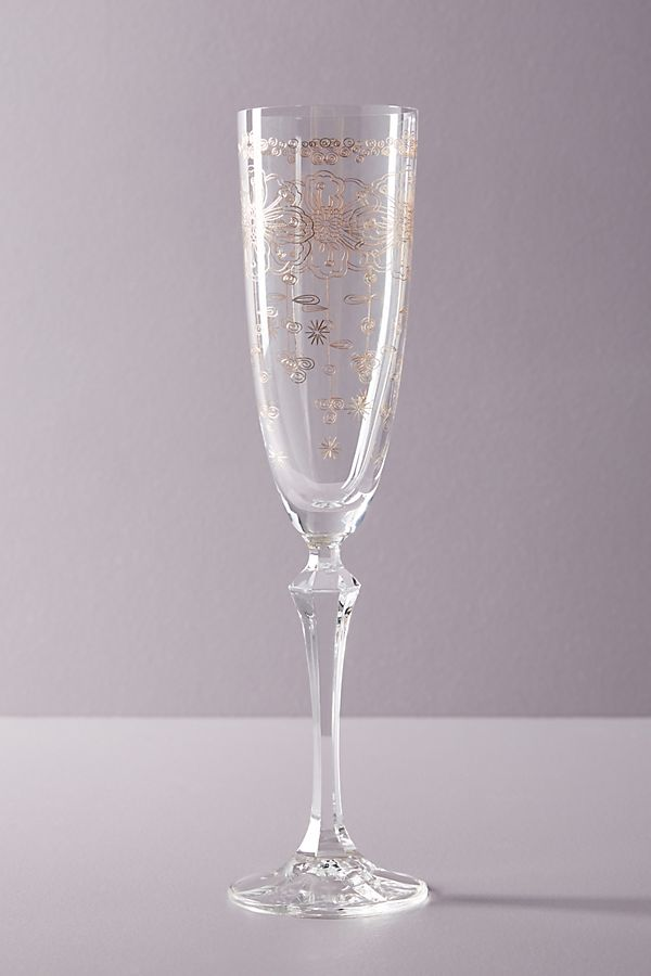 Alice Champagne Flute Anthropologie