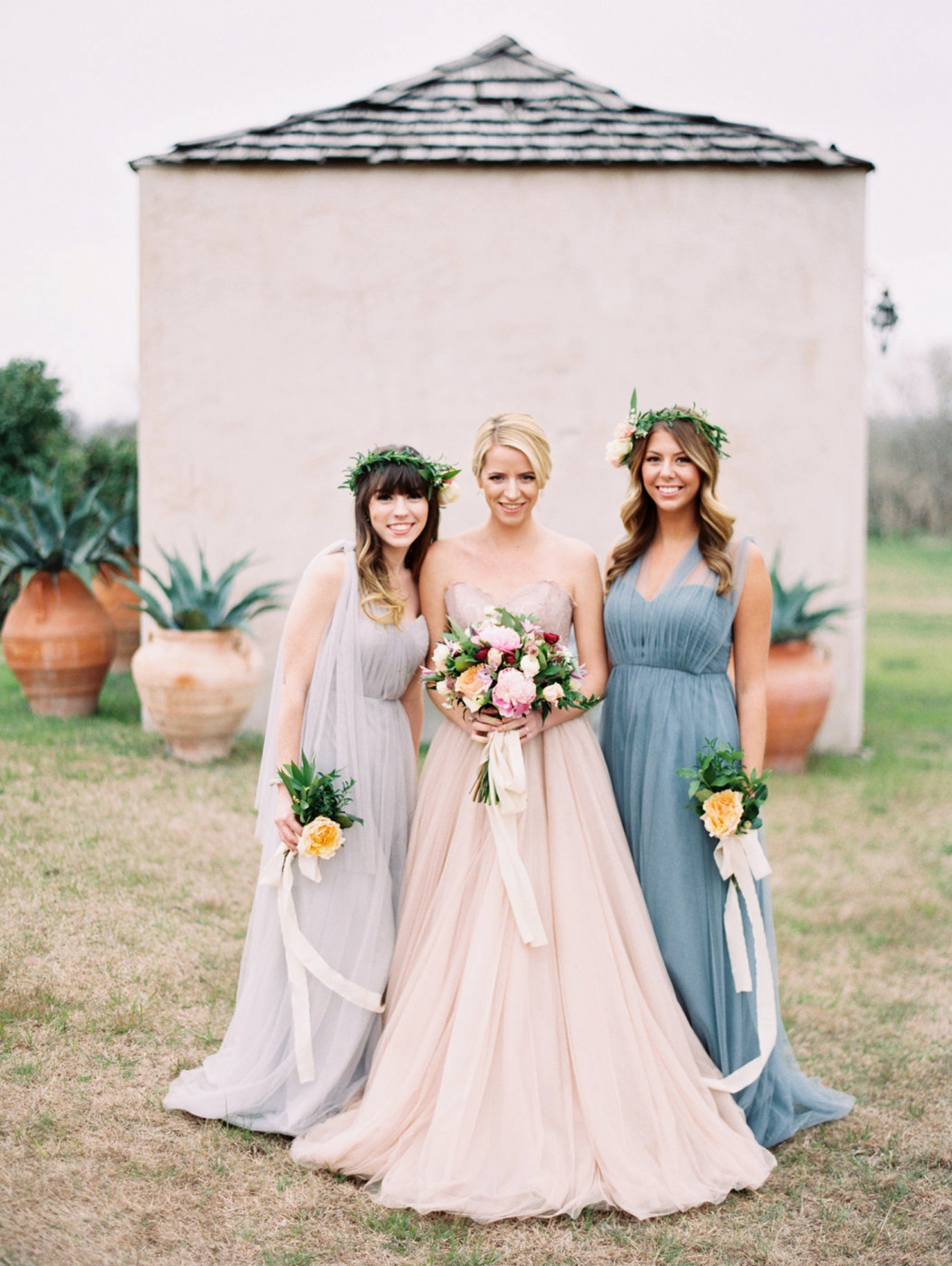 Annabelle Jenny Yoo, BHLDN Bride, Blush Wedding Dress, Austin Wedding Photographer, Le San Michele Wedding