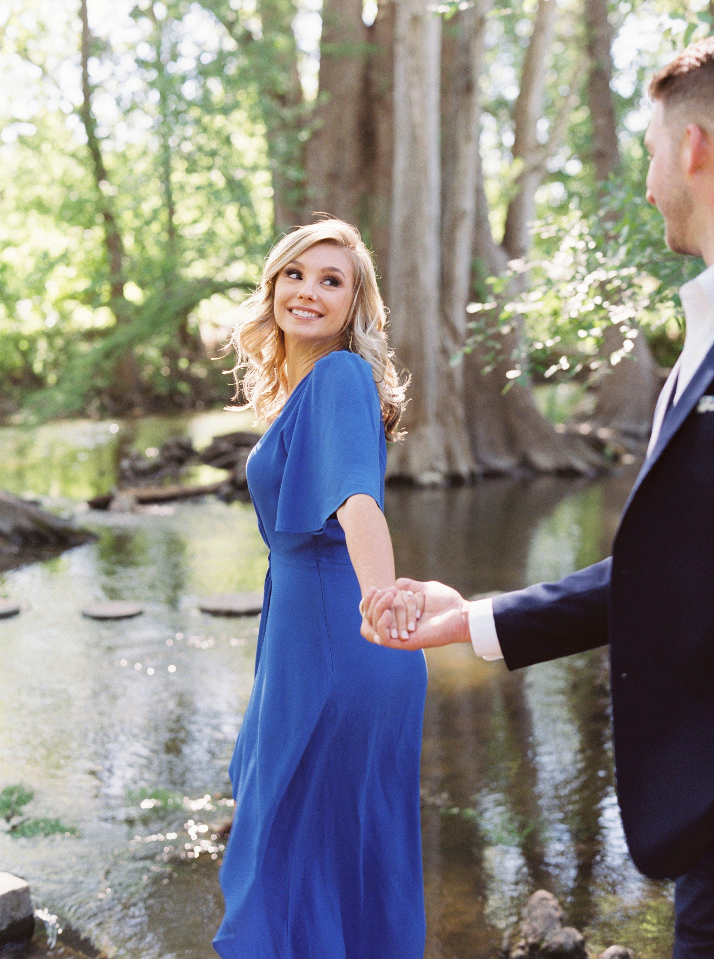 Kelsey Austin Cibolo Creek San Antonio Engagement Session
