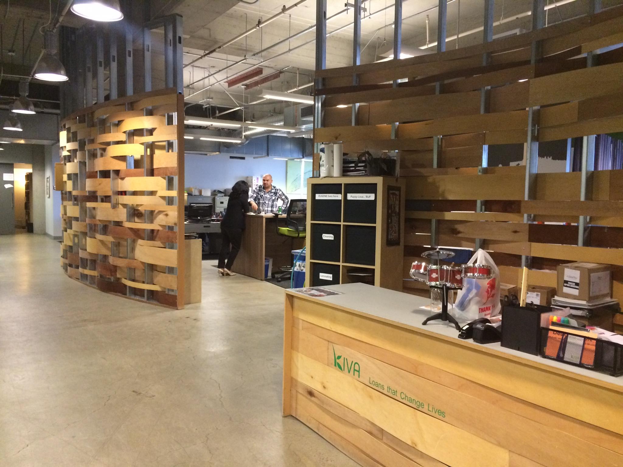 Inside  Kiva 's San Francisco offices.