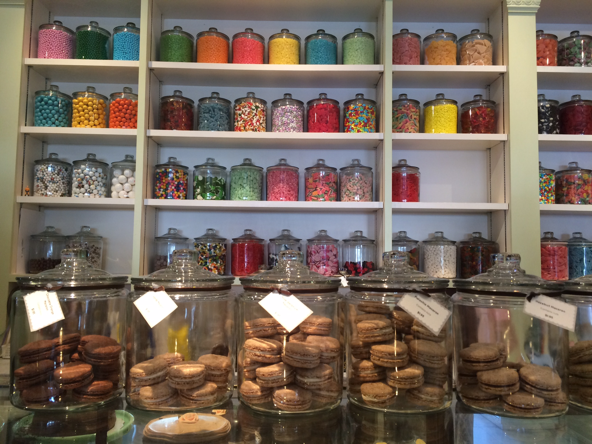 Colorful confections at  Miette  in Hayes Valley!