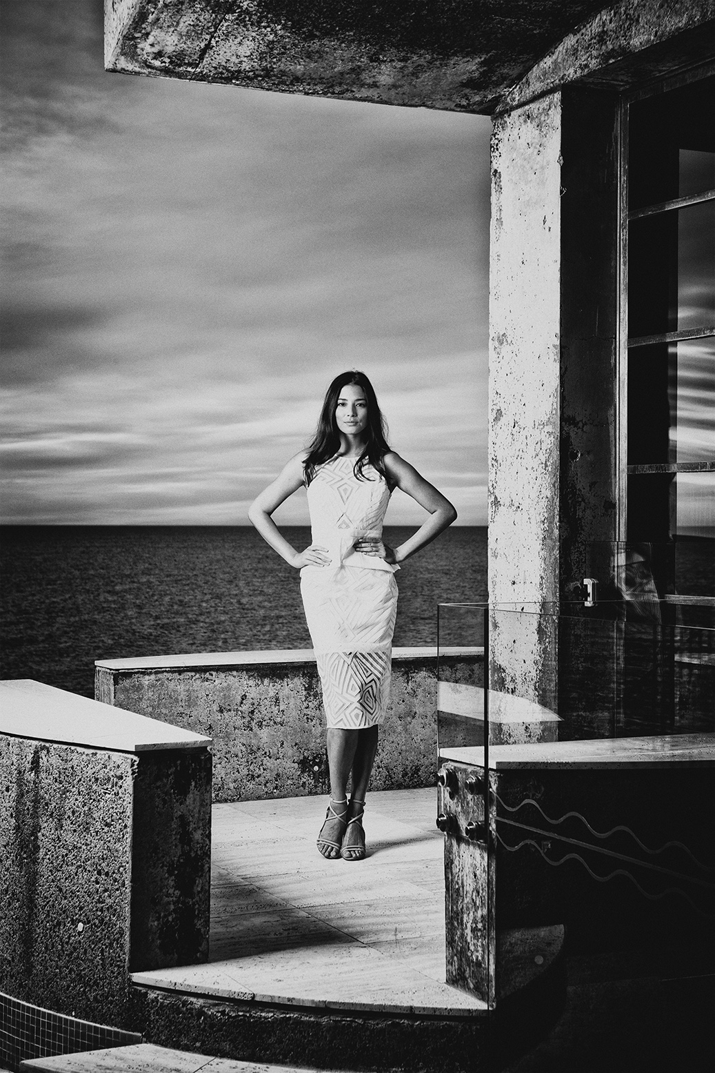 Jessica Gomes for Brisbane News Magazine.   Hair by Aveda, Make-Up by Shu Uemura, Styling : Kimberly Gardner   photography : Russell Shakespeare