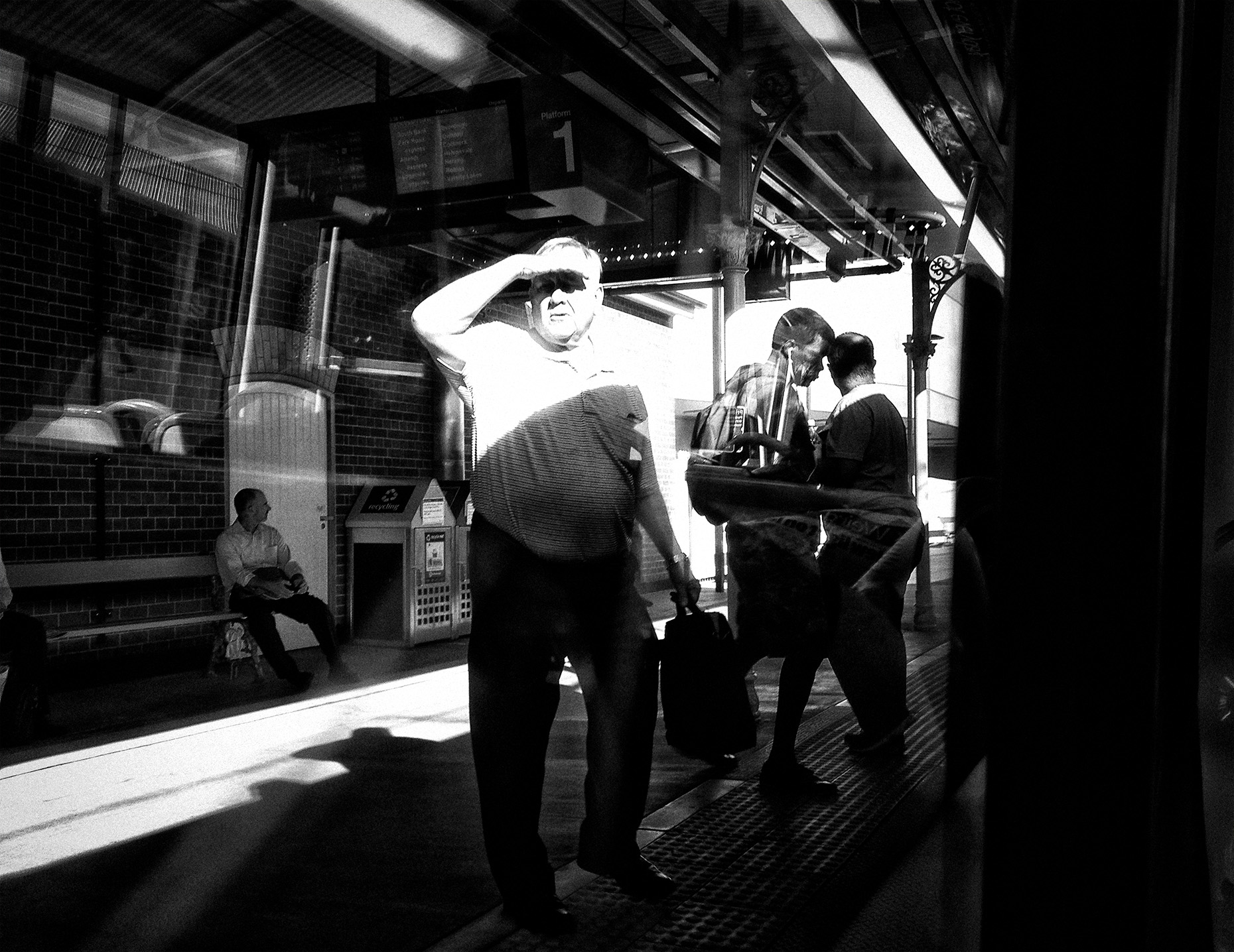 """""""The Commute""""  photo copyright : Russell Shakespeare"""