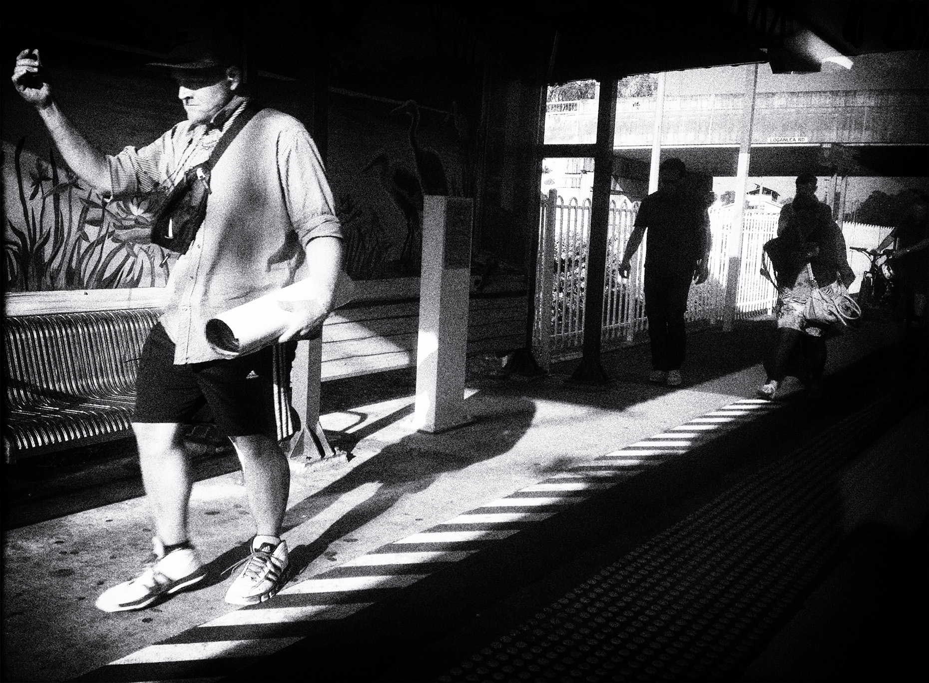 """""""The Commute"""" photo copyright Russell Shakespeare"""