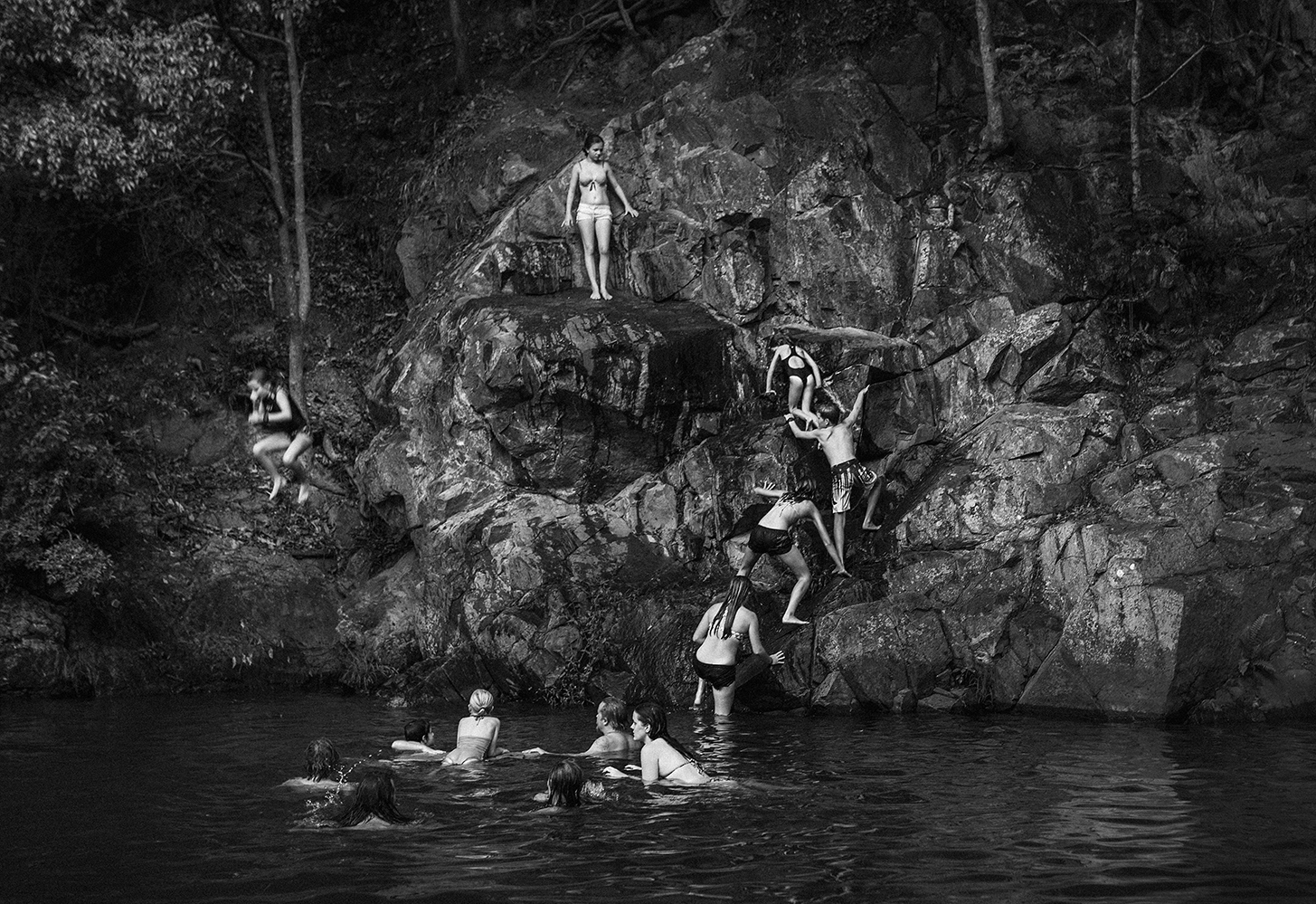 Currumbin Valley Rock Pools      copyright : Russell Shakespeare 2015