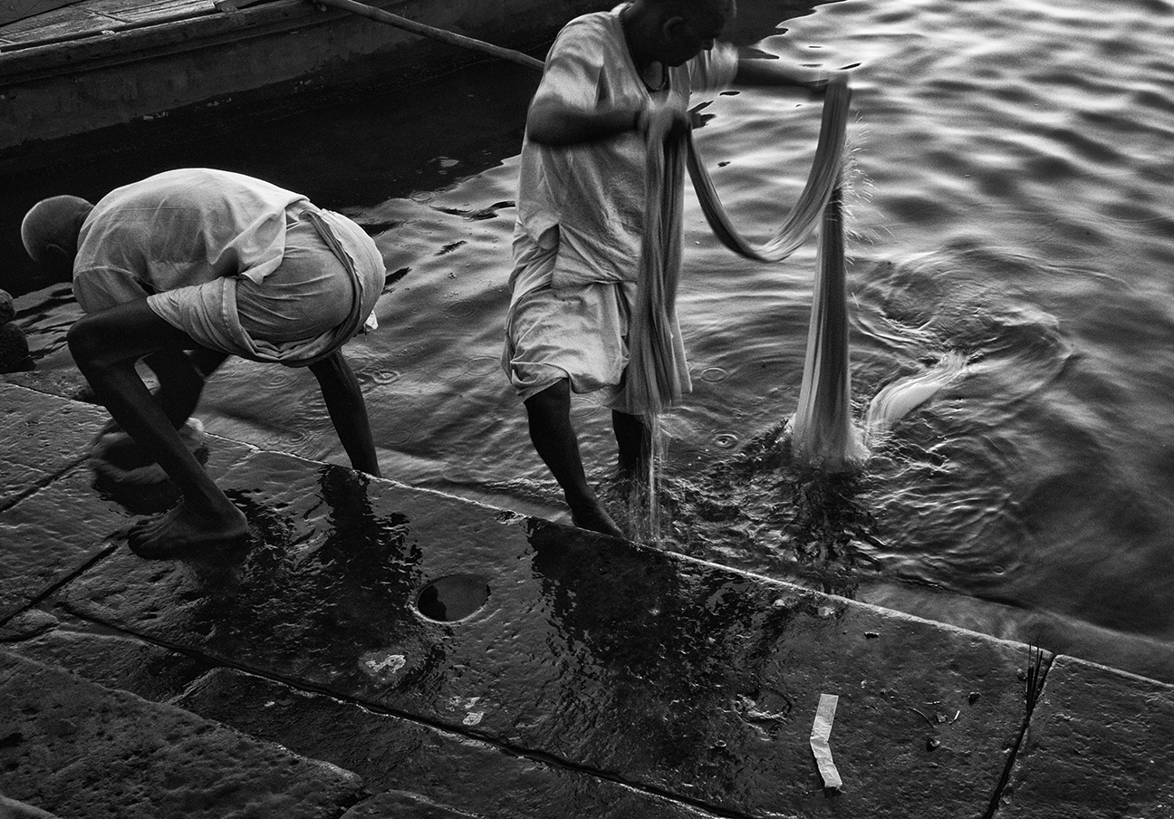 """Ganges River, Varanasi""     photo copyright : Russell Shakespeare 2015"