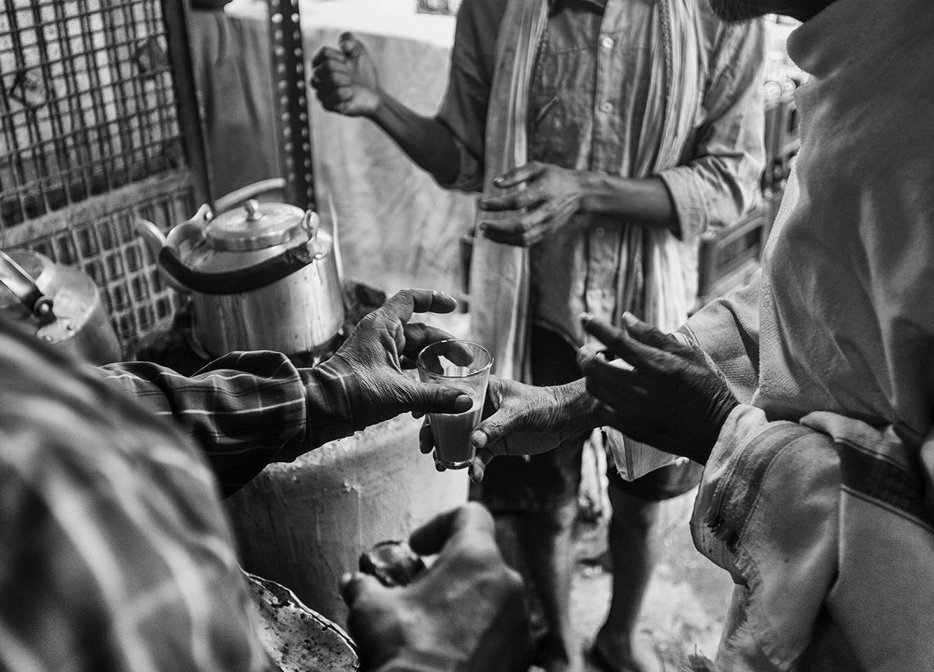"""Chai Shop, Varanasi, India""    photo copyright : Russell Shakespeare 2015"
