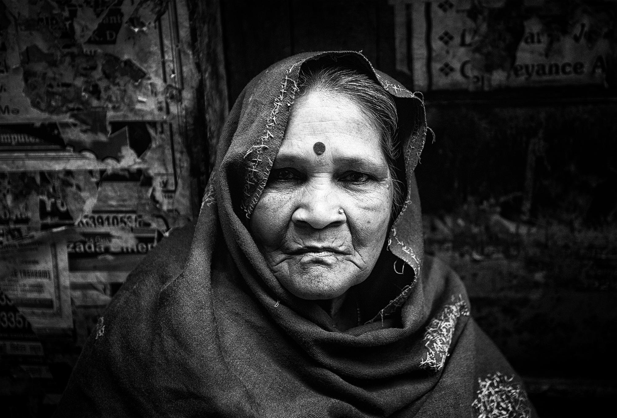 """The Old City"" Varanasi, India  photo copyright : Russell Shakespeare 2015"