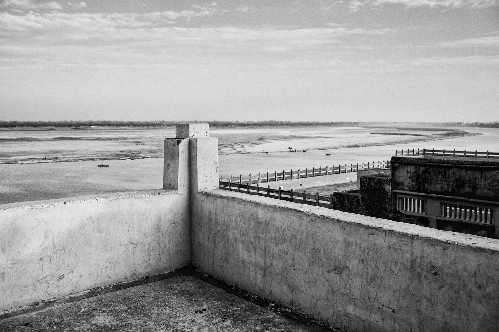 """""""The Rooftop View from Eden Halt Guest House, Varanasi""""  photo copyright : Russell Shakespeare"""