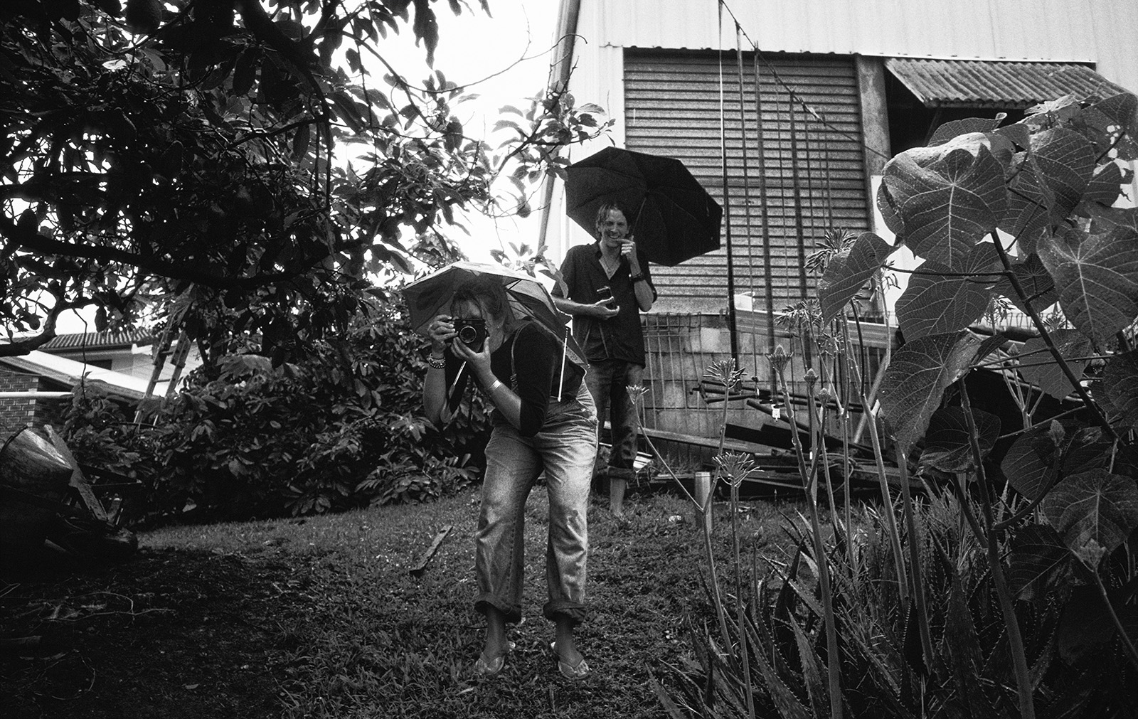 """""""Trent Parke and Narelle Autio"""" Currumbin Valley, photo copyright : Russell Shakespeare"""