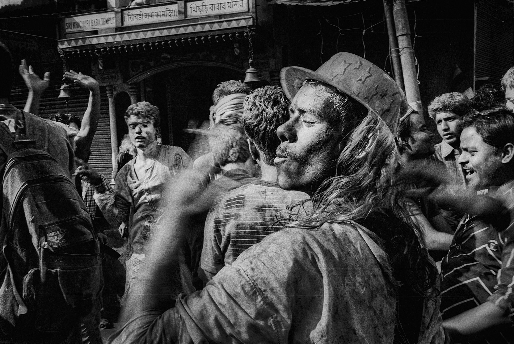 """Holi Festival"" Varanasi, India                     photo copyright : Russell Shakespeare 2015"