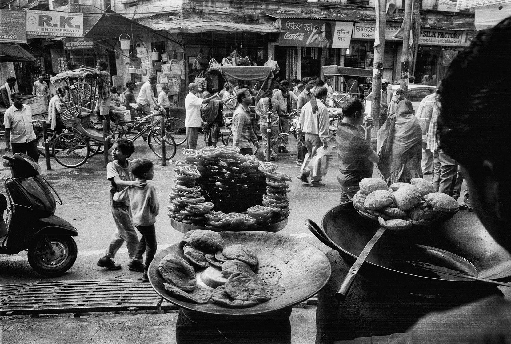 Varanasi, India            photo copyright : Russell Shakespeare 2015