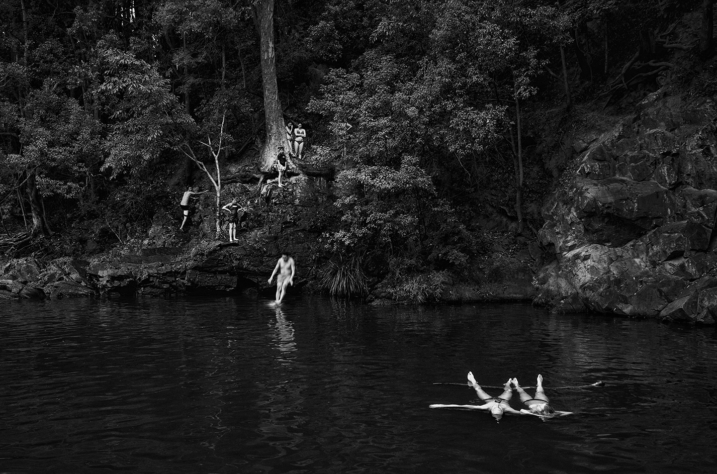 """""""Currumbin Valley Rock Pools""""    photo copyright : Russell Shakespeare 2015"""